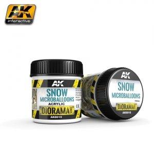 AK Interactive AK 8010 Snow Microballoons 100ML