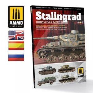 Ammo of Mig 6146 Stalingrad Vehicles Colors - German and Russian Camouflages in the Battle of Stalingrad (Multilingual)