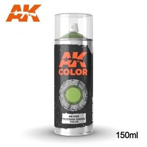 AK Interactive AK 1026 RUSSIAN GREEN COLOR SPRAY 150ml