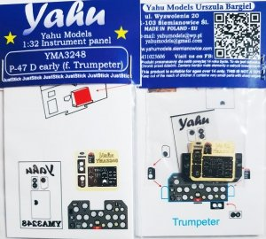 Yahu YMA3248 P-47 early for Trumpeter 1/32