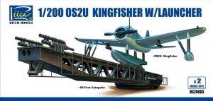Riich Models RS20003 OS2U-3 Kingfisher w/Launcher (x2) 1:200