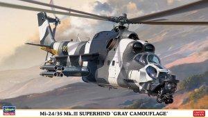 """Hasegawa 02297 Mi-24/35 Mk.III SUPERHIND """"GRAY CAMOUFLAGE"""" (1/72)"""