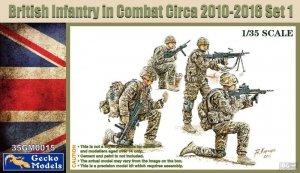 Gecko Models 35GM0015 British Infantry in combat Circa 2010-12 1/35