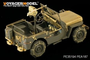 Voyager Model PEA187 WWII U.S. Jeep Willys MB tyre chains (For TAMIYA /ITALIAN) 1/35