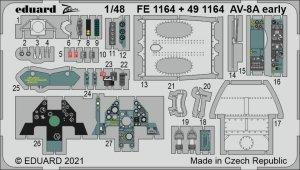 Eduard FE1164 AV-8A early KINETIC 1/48