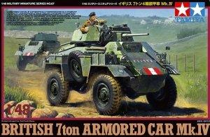Tamiya 32587 BRITISH 7ton ARMORED CAR Mk.IV (1:48)