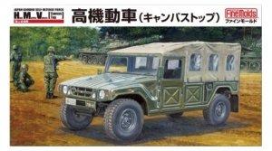 Fine Molds FM42 JGSDF HMV (Canvas Top/Personnel Carrier) 1/35