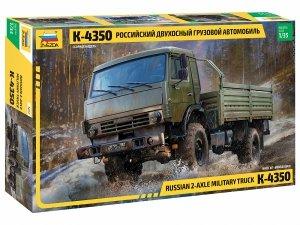 Zvezda 3692 KAMAZ K-4350 ciężarówka wojskowa 1/35