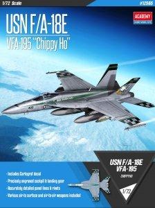 Academy 12565 USN F/A-18E VFA-195 Chippy Ho 1/72