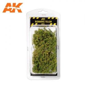 AK Interactive AK 8175 BLOMMING YELLOW SHRUBBERIES 75MM / 90MM 1/35