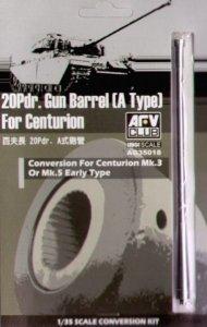 AFV Club AG35018 20 Pdr.Gun Barrel (A type) for Centurion 1:35