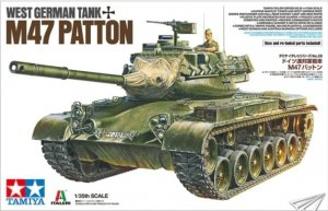 Tamiya 37028 West German tank M47 Patton 1/35