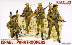 Dragon 3001 ISRAELI PARATROOPS 1/35