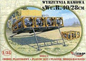 Mirage Hobby 35217 Niemiecka Wyrzutnia Ramowa sWu. R. 40/28 cm 1/35