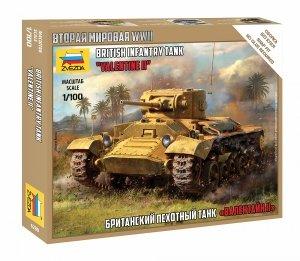 "Zvezda 6280 British Infantry Tank Valentine"" II 1/100"