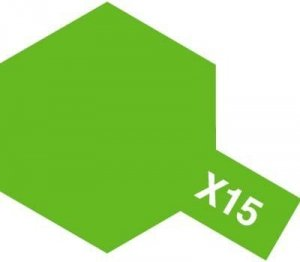Tamiya X-15 Light Green (81515) Acrylic paint 10ml