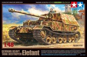 Tamiya 32589 German Heavy Tank Destroyer Elefant 1/48