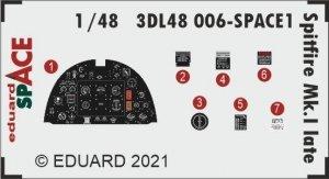 Eduard 3DL48006 Spitfire Mk.I late SPACE 1/48
