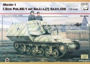 Panda Hobby 35006 Marder I 7.5cm Pak 40/1 auf Gw.Lr.s(f) Sd.Kfz. 135 1/35