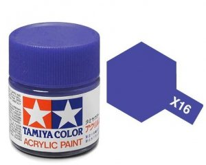 Tamiya 81016 Acryl X-16 Purple 23ml