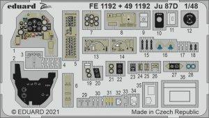 Eduard FE1192 Ju 87D HASEGAWA / HOBBY 2000 1/48