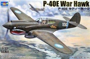 Trumpeter 02269 Curtiss P-40E War Hawk 1/32