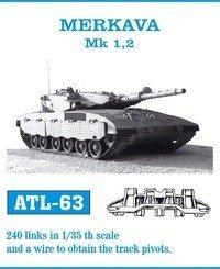 Friulmodel 1:35 ATL-63 MERKAVA Mk 1,2