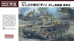 Fine Molds FM25 Imperial Japanese Army Main Battle Tank Type 97 Chi-Ha 1/35