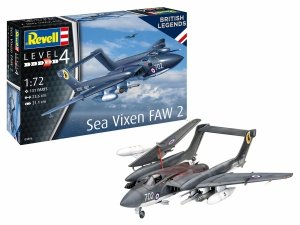 Revell 63866 Sea Vixen FAW 2 - Model Set 1/72