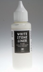 Vallejo 26234 White Stone Liner (35ml)