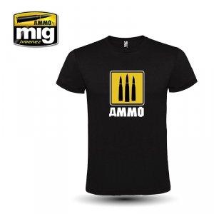 AMMO of Mig Jimenez 8055L AMMO 3 BULLETS, 3 FOUNDERS T-SHIRT ( rozmiar , size L)