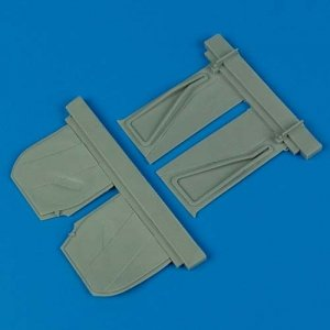 Quickboost QB32061 P-51B Mustang undercarriage covers Trumpeter 1/32