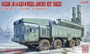 Modelcollect UA72091 Russian 3M-54 Klub-M Missile Launcher MZKT Chassis 1/72
