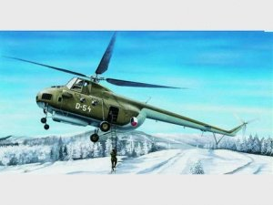 Trumpeter 05101 Mi-4A Hound A Helicopter (1:35)