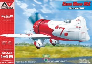 A&A Models 4805 Gee Bee R2 Model 1933 1/48
