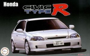 Fujimi 039879 Honda Civic Type R Late Type (EK9) 1/24