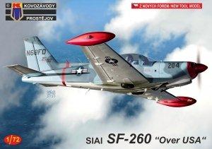 Kovozavody Prostejov KPM0209 SIAI SF-260 Over USA 1/72