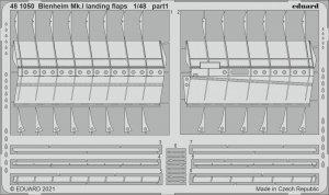 Eduard 481050 Blenheim Mk.I landing flaps AIRFIX 1/48