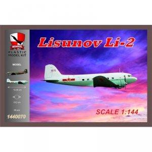 Big Model 1440070 LISUNOV Li-2 CHINA AIRFORCE 1/144