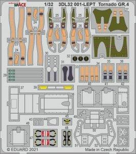 Eduard 3DL32001 Tornado GR.4 SPACE for  ITALERI 1/32