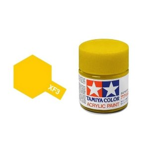 Tamiya 81303 Acryl XF-3 Flat Yellow 23ml
