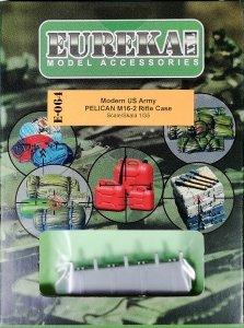 Eureka XXL E-064 Modern US Army PELICAN M16-2 Rifle Case 1/35