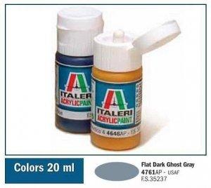 Italeri 4761 FLAT DARK GHOST GRAY 20ml