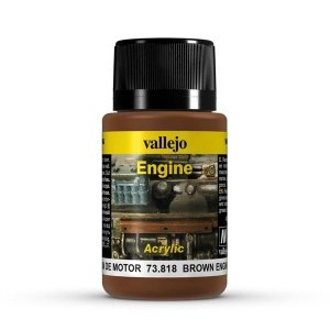 Vallejo 73818 Engine Effects- Brown Engine soot 40
