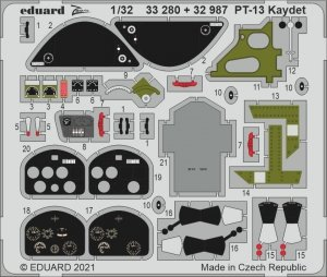Eduard 33280 PT-13 Kaydet RODEN 1/32
