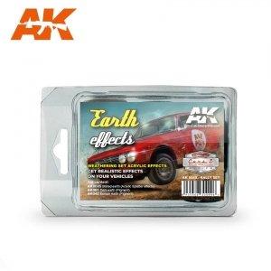AK Interactive AK 8089 EARTH EFFECTS (RALLY SET)