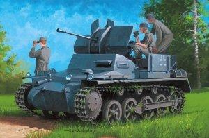 Hobby Boss 80147 German Flakpanzer IA w/Ammo Trailer 1/35