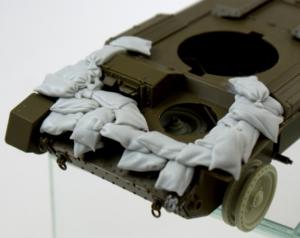 "Panzer Art RE35-625 Sandbags armor for A15 ""Crusader"" 1/35"