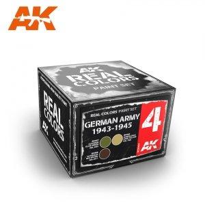 AK Interactive RCS004 GERMAN ARMY 1943-1945 SET (3x10ml)