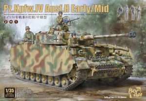 Border Model BT-005 Pz.Kpfw.IV Ausf.H Early/Mid 2 in 1 1/35